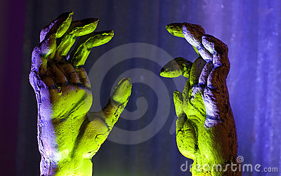 Zombie Hands Reaching