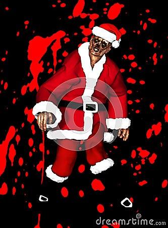 Zombie Kerstman