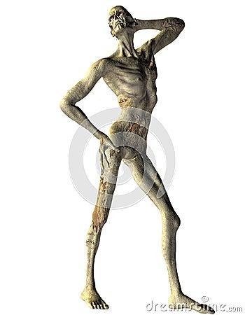 Zombie Model Pose