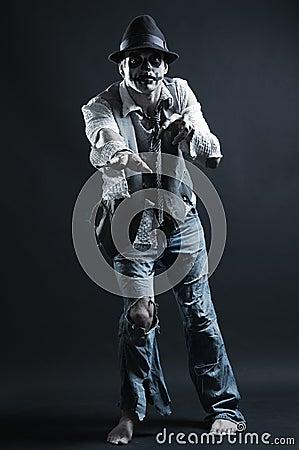 Zombie reaching to you