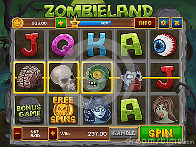 zombie slots games