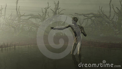 Zombie in the Swamp