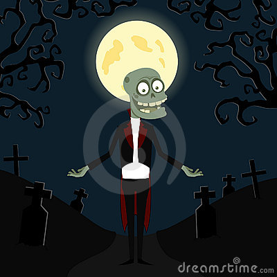 The zombie in a tuxedo