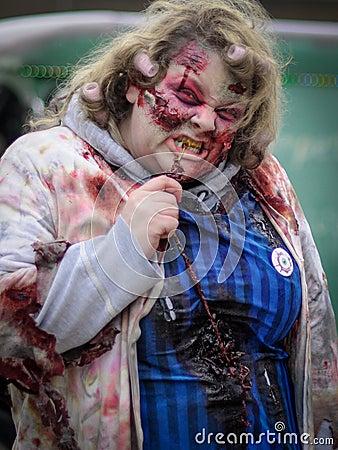 Zombie Walk Editorial Stock Photo