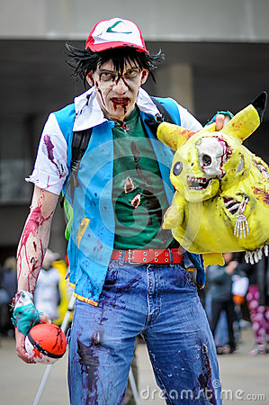 Zombie Walk Editorial Photo