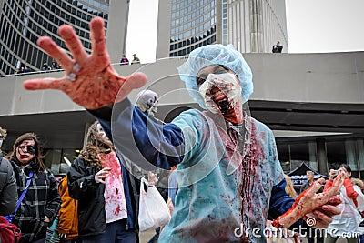 Zombie Walk Editorial Image