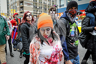 Zombie Walk Editorial Photography