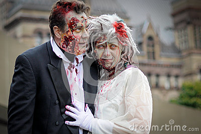 Zombie Walk Editorial Photo