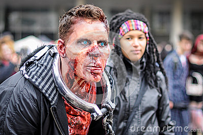 Zombie Walk Editorial Stock Image