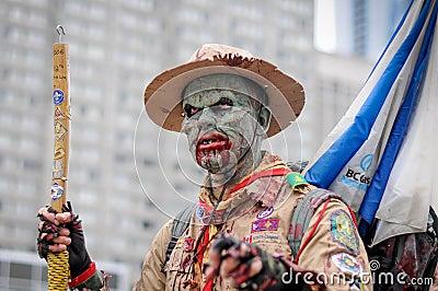 Zombie Walk Editorial Photography