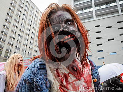 Zombie Walk Editorial Image