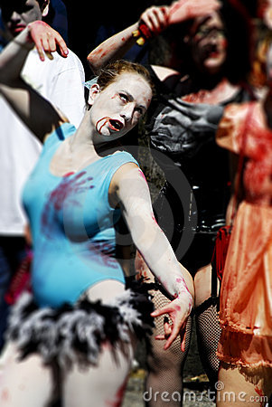 Zombie Walk - Vancouver 2008 Editorial Photography