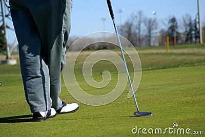 Area di golf del parco di ricreazione