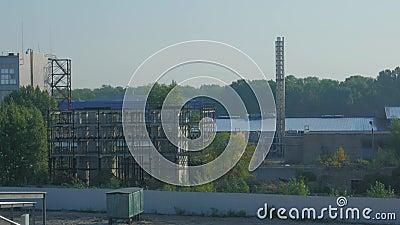 Zona Industriale stock footage