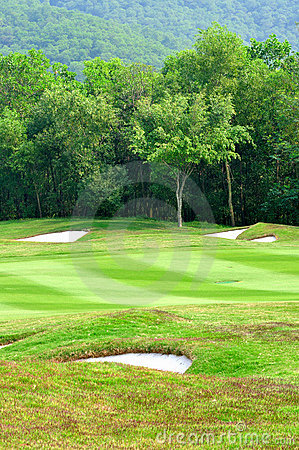 Zone de golf