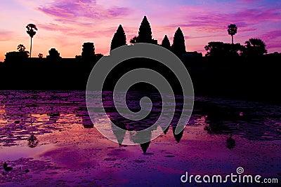 Zonsopgang in Angkor Wat