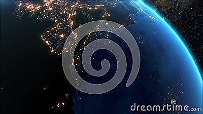 Zonsopgang over de Aarde