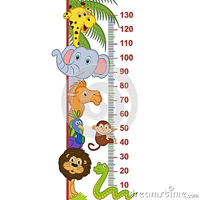 Free Zoo Animal Height Measure Stock Photo - 85744990