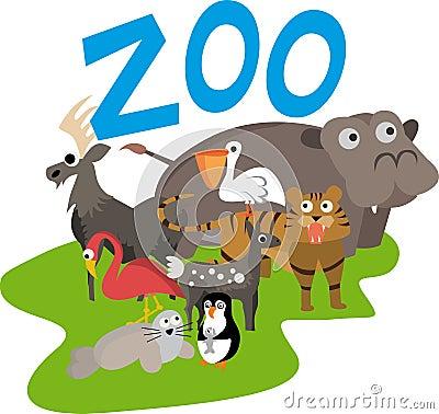 Free Zoo Illustration Stock Photography - 17496722