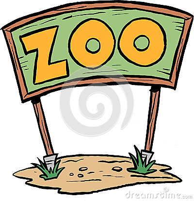 Zoo Sign Stock Illustration - Image: 40621150