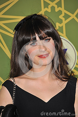 Zooey Deschanel Editorial Stock Image