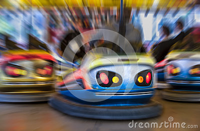 Zoom on bumper car