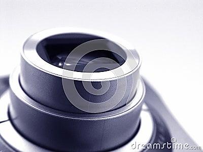 Zoom Len Stock Photo