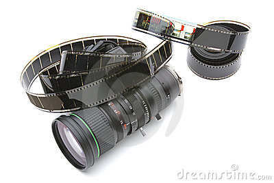 Zoom lens with 35mm film