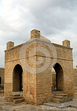Free Zoroaster Temple, Ateshgah, Azerbaijan Stock Photo - 62873000