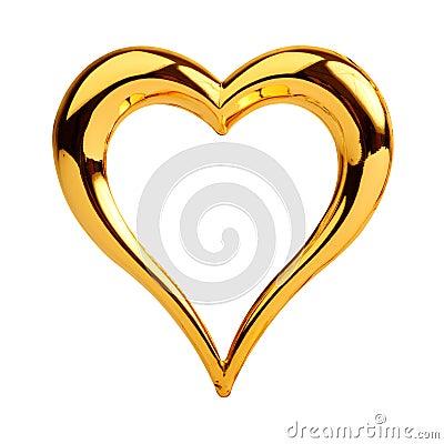 Złoty serce