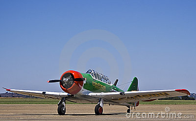 ZU-BMC - N. American AT-6 Harvard Stock Image - Image: 8716051