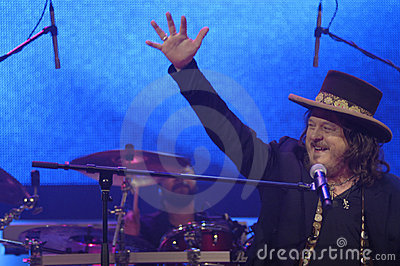Zucchero in Concert Editorial Stock Image