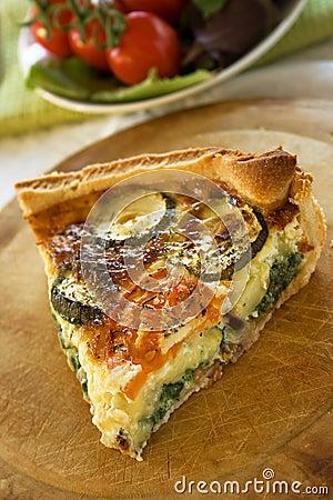 Free Zucchini Quiche Stock Photo - 21533680