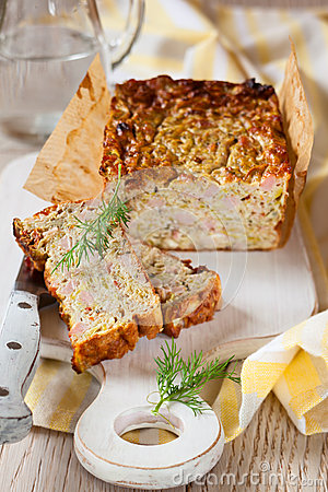 Free Zucchini Terrine Royalty Free Stock Image - 27348746