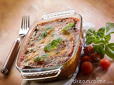 Zucchinis parmesan