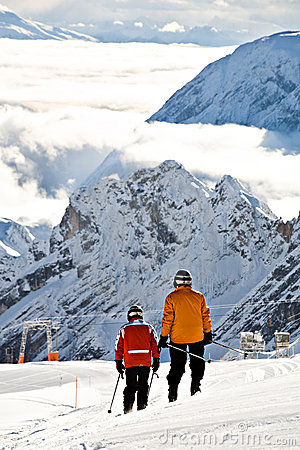 Zugspitze area