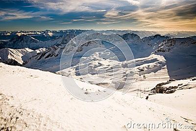 Zugspitze mountain landscape
