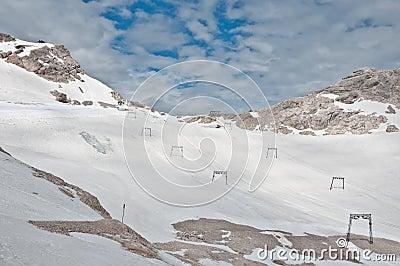 Zugspitze - ski-lift