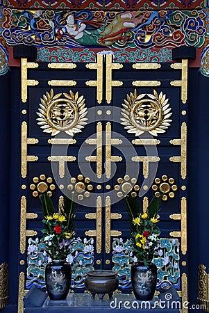 Free Zuihoden Mausoleum Door Royalty Free Stock Images - 39359479