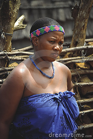 Zulu woman Editorial Stock Photo