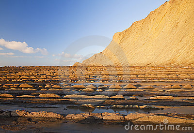 Zumaia flysch, declared protected biotope.