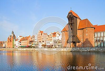Zuraw und alter Damm, Gdansk
