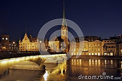 Zurich Fraumunster