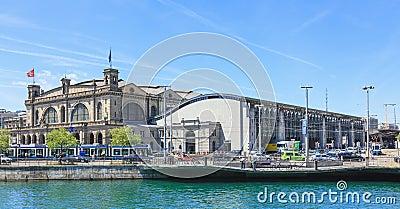 Zurich Main railway station Editorial Photography