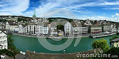 Zurich/Zurigo in Switzerland