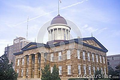 Zustand-Kapitol von Illinois