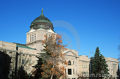 Zustand-Kapitol von Montana,