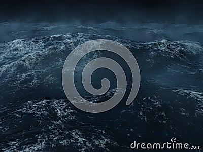 Zware overzees