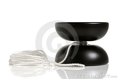 Zwart jojostuk speelgoed