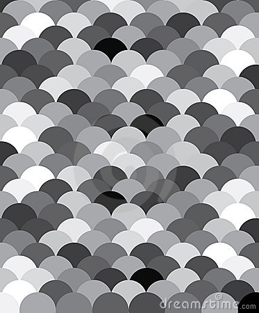 Zwart-wit patroon de schalen van een Lavis